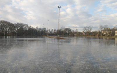 De ijsbaan is gesloten! (03-03-2018)